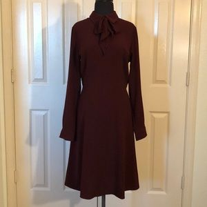 Crepe Dress With Neck Bow from Target